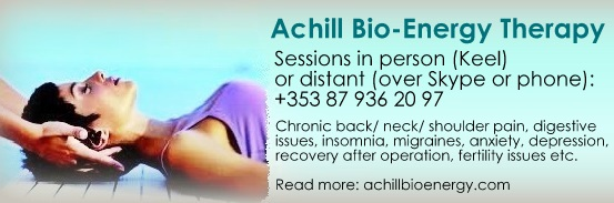 Achill Bio Energy Therapy Hands On  Healing FB