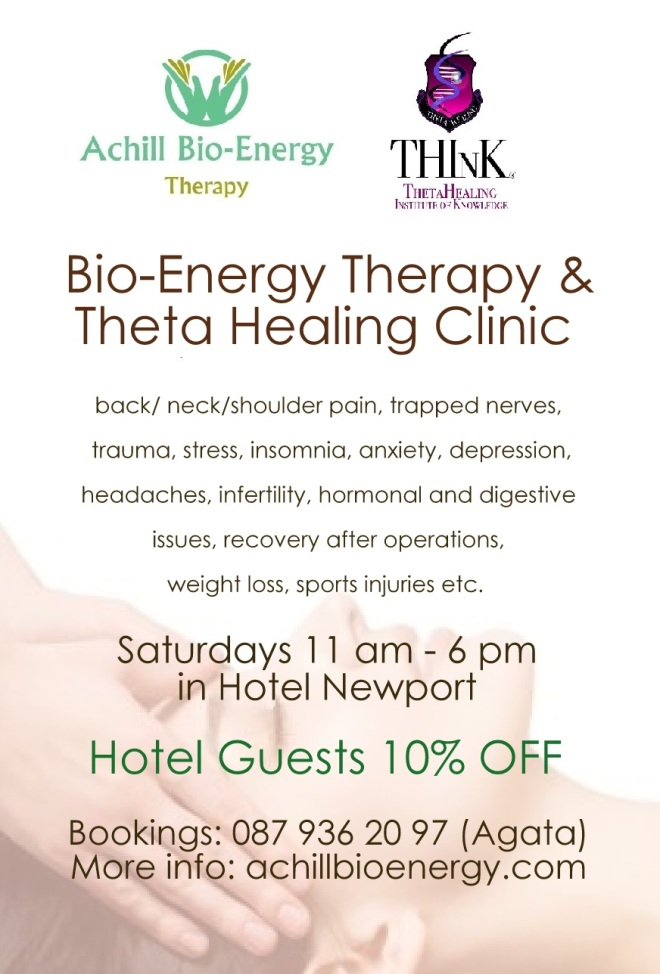 Bio Energy and Theta Hotel Newport Clinic 2