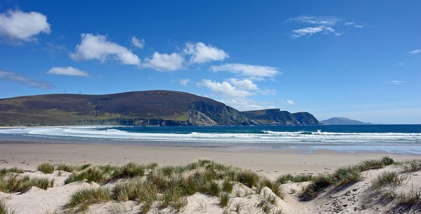 Trawmore Beach in Keel, Achill Island. Click image for more attractions on Achill @chrispd1975/ Flickr